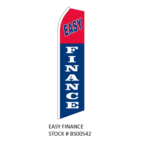 Swooper Flags EASY FINANCE