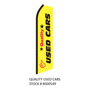 Swooper Flags QUALITY USED CARS